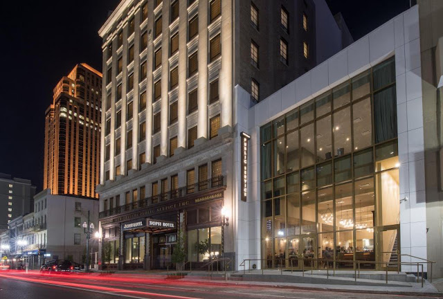 A quintessential gathering spot, NOPSI Hotel is the luxury hotel in downtown New Orleans where professionals, artists and celebrities come to see and be seen.