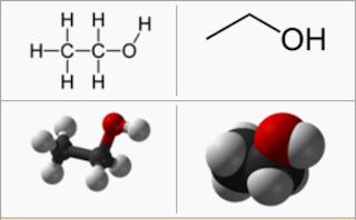 struktur etanol
