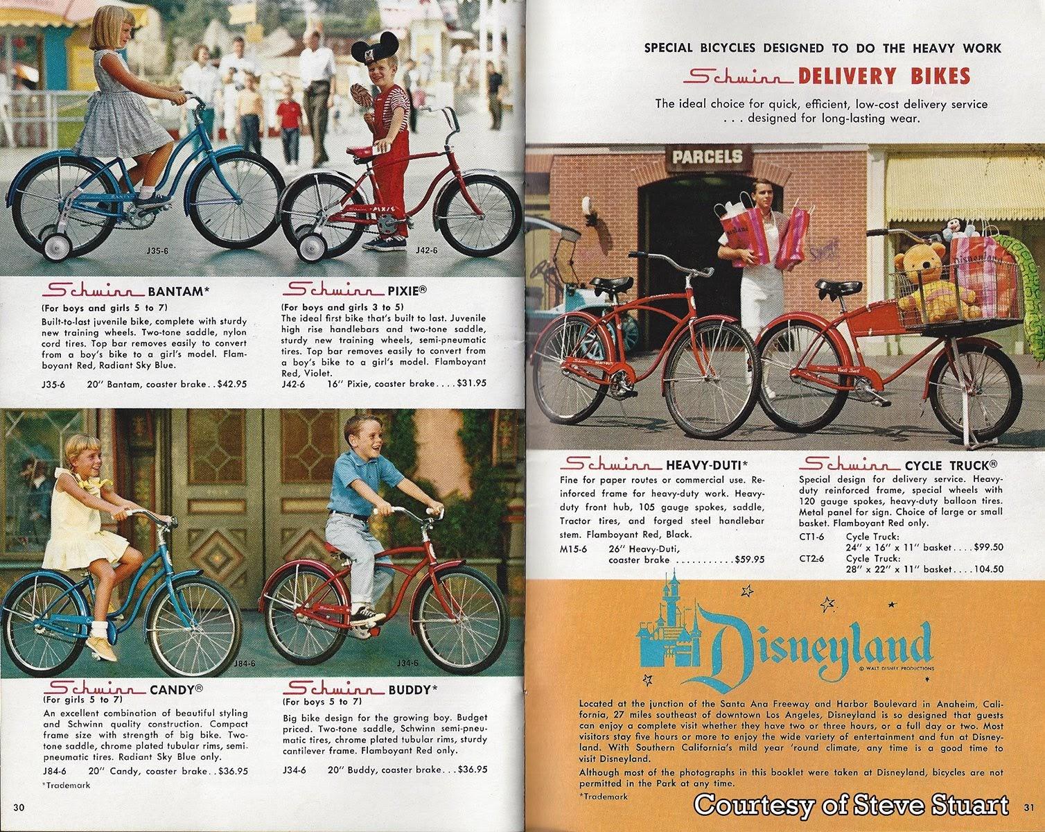 GORILLAS DON'T BLOG: 1968 Schwinn Bicycle Catalog - Part 3