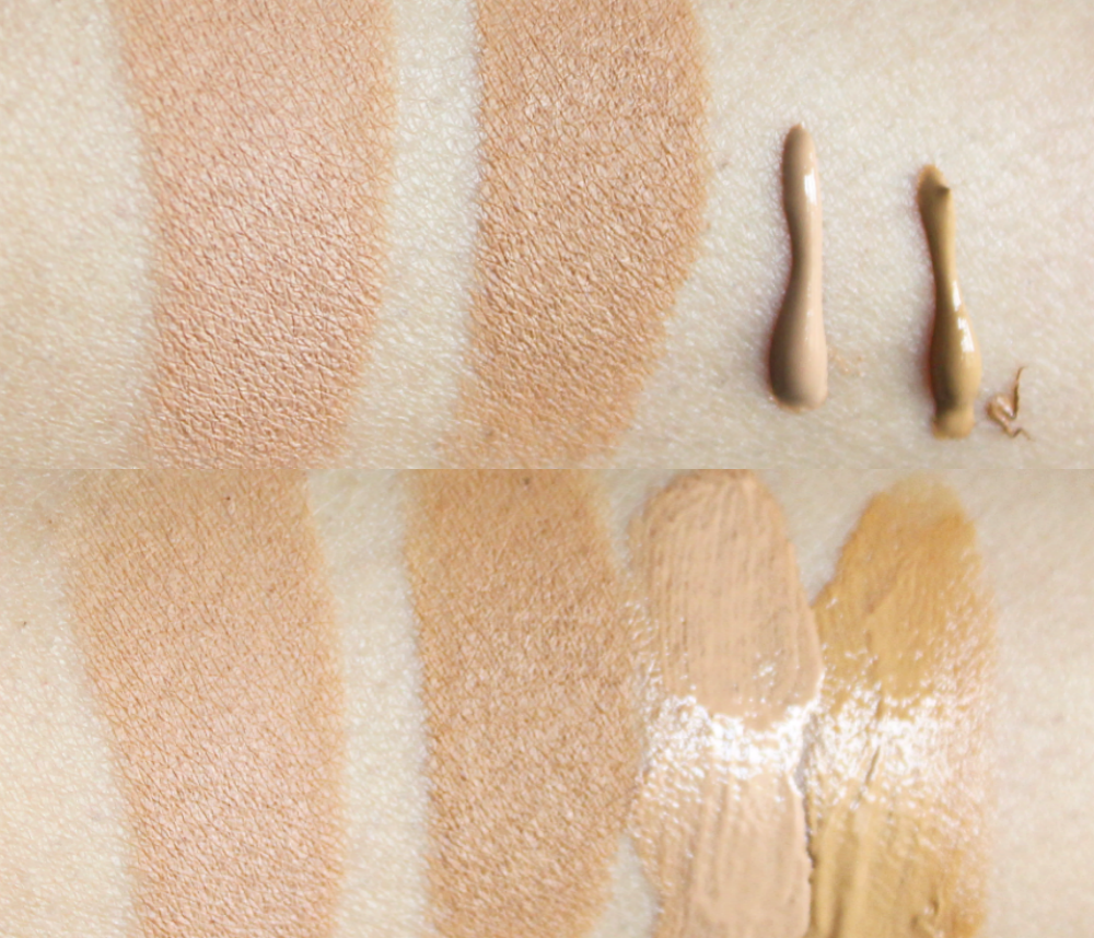 IMAN Stick foundation in 3 and 4 IMAN BB cream in 3 and 4 review and swatches