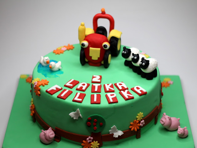 Tractor TOM  Childrens Cake in London