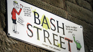 There really is a Bash Street