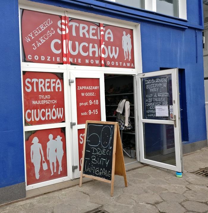 Wrocławskie ciuchlandy: Strefa Ciuchów WRO