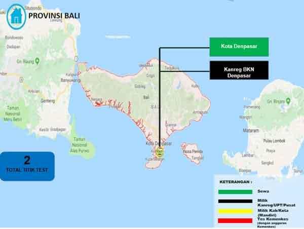 Lokasi Tes Cat BKN Propinsi Bali