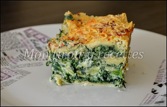 mon tiroir recettes blog de cuisine lasagnes pinards ricotta. Black Bedroom Furniture Sets. Home Design Ideas