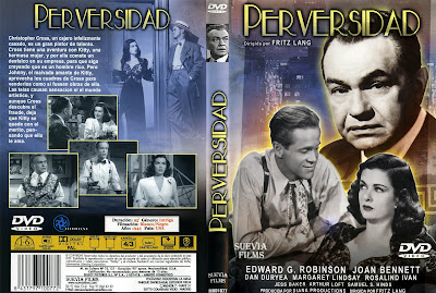 Carátula dvd: Perversidad, (1945) Scarlet Street