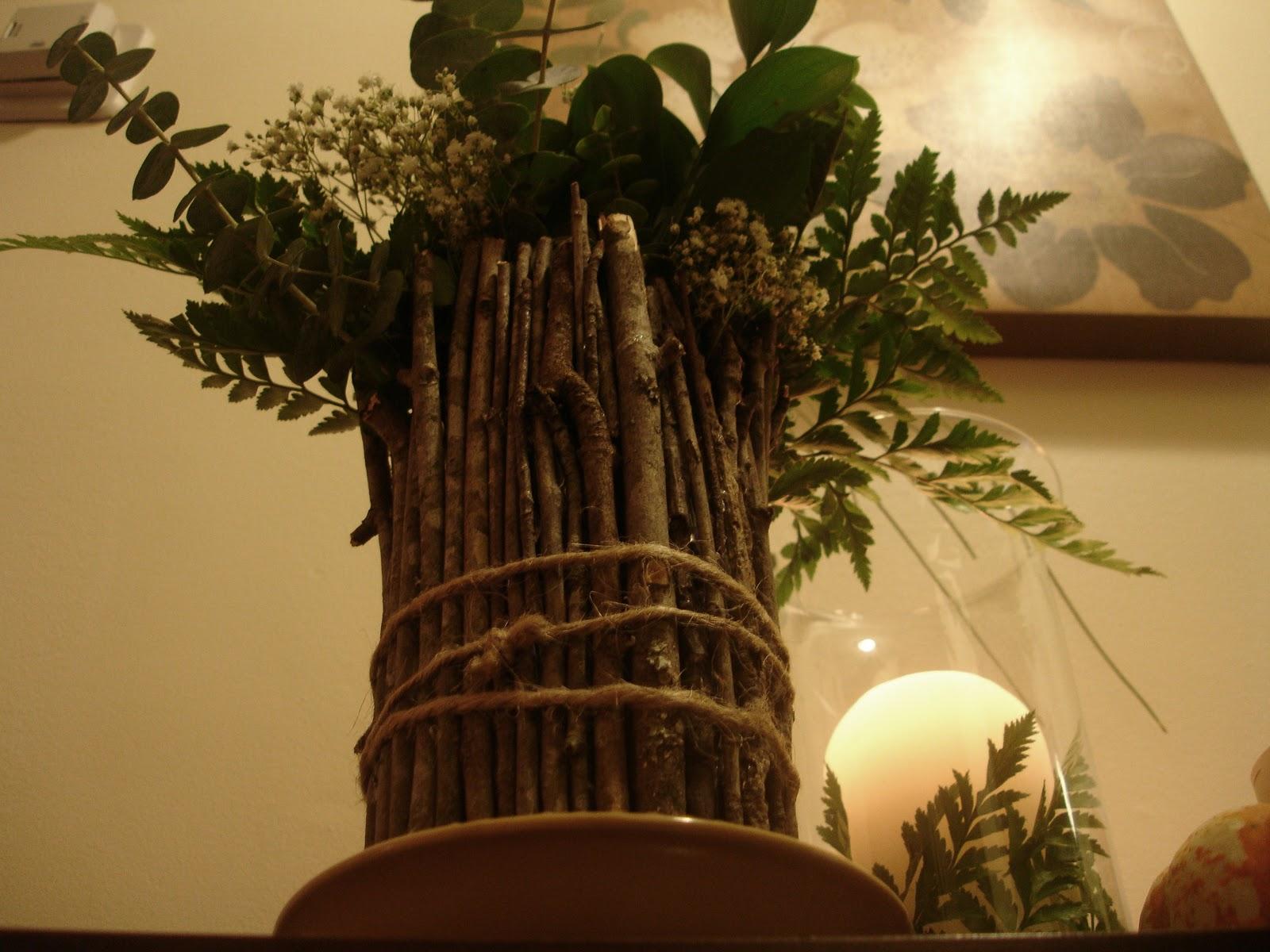 Don't Disturb This Groove: A Stick Vase