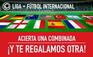 sportium Combinada Fútbol Gratis 16-17 septiembre