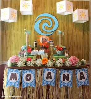 Ideias de Decoração Festa Infantil Moana