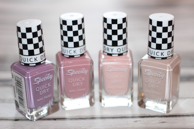 BARRY M SPEEDY NAIL PAINT SPRING 2016 COLLECTION