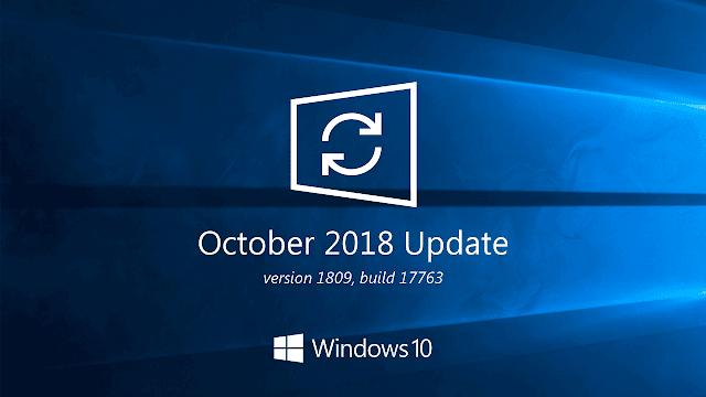 ايقاف تحديث Windows 10 October 2018 بعد حذف ملفات المستخدمين