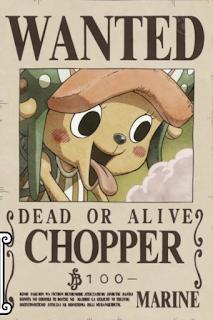 harga buronan chopper setelah dressrosa