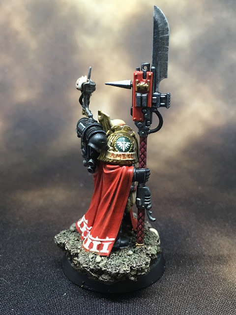 Deathwatch Watch Master Amiel right side
