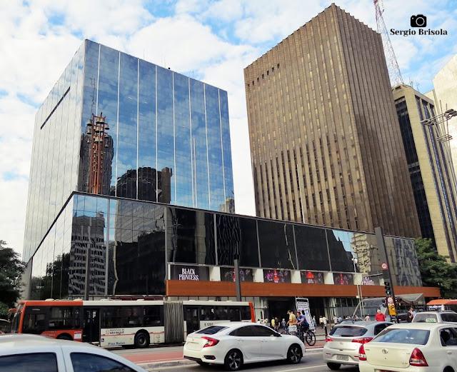Vista ampla do Edifício Brazilian Financial Center - antigo Banco Real - Bela Vista - São Paulo