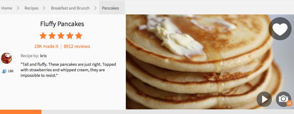 Resepi Pancake Gebu Sedap...