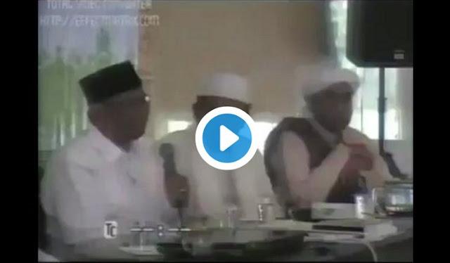 [Video] Alm KH Hasyim Muzadi Sudah Tahu JIL Akan Merusak NU, Dan Memuji FPI Karena Selalu Mengingatkan