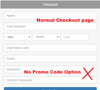 Long tail pro normal checkout page