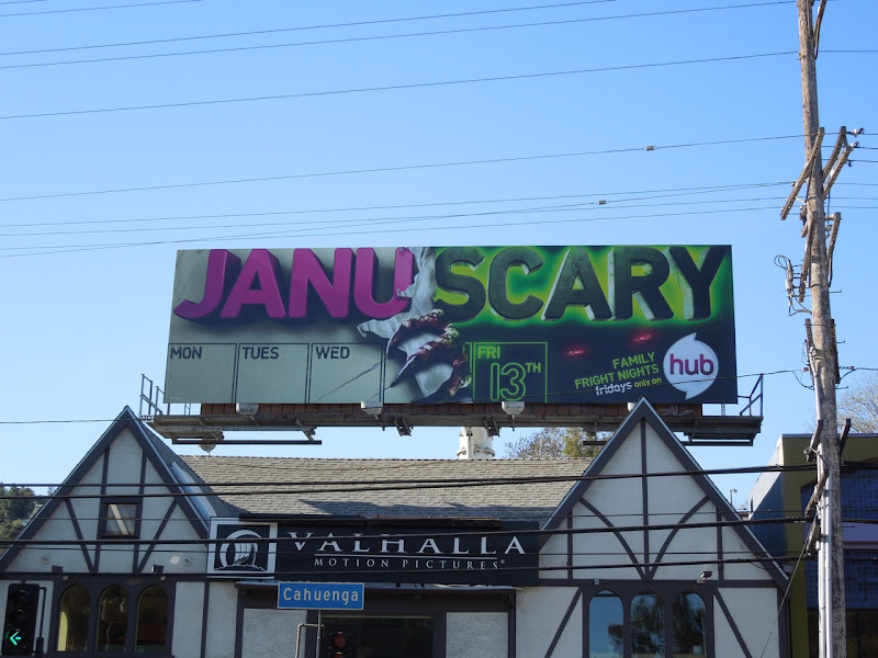 Family Fright Nights Hub billboard