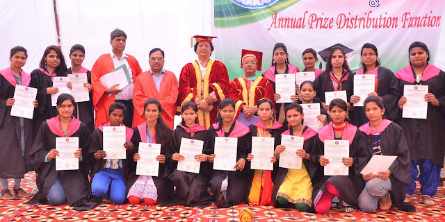 Convocation and Prize Distribution at Govt. College For Women Faridabad