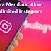 Begini Cara Membuat Akun Unlimited Instagram Tanpa Verifikasi Di PC
