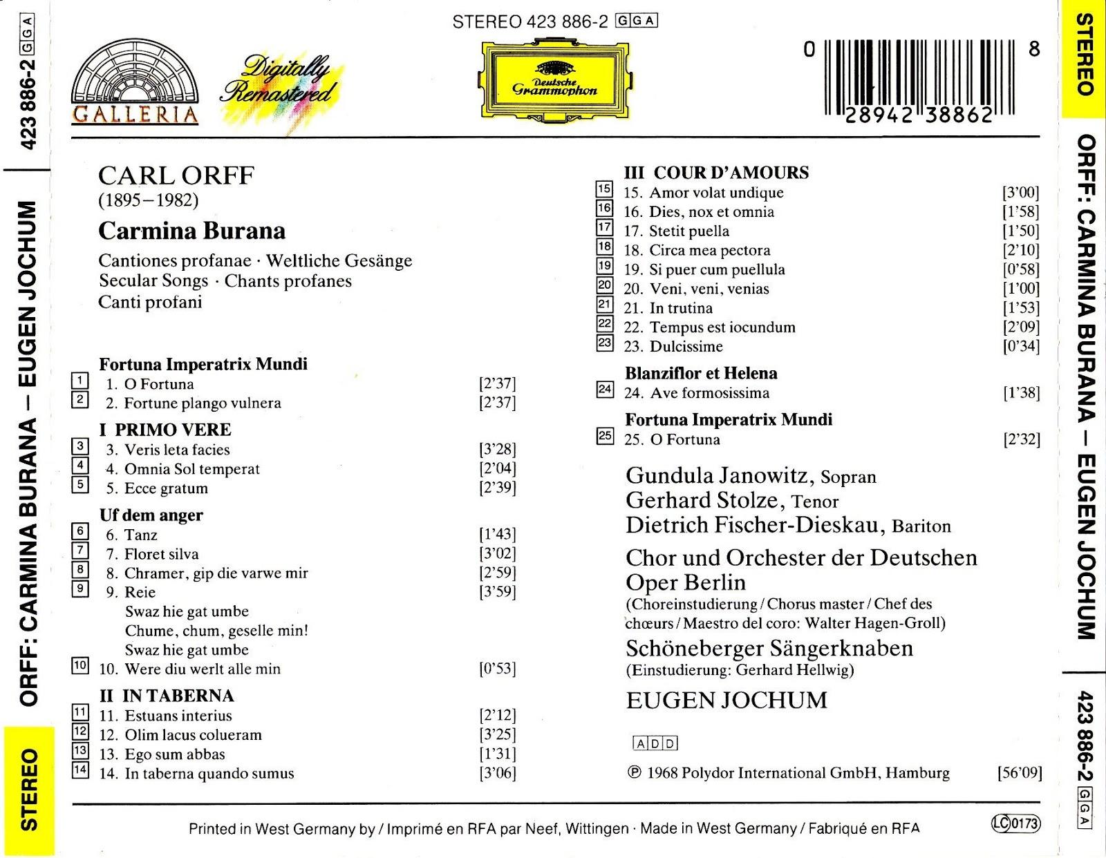 Schöneberger Sängerknaben - Orchester Heinz Gietz Uns're Stadt Hört Doch Nicht Am Brandenburger Tor Auf
