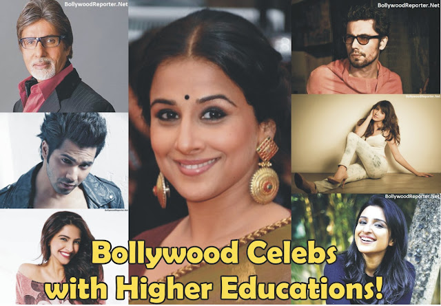 14 Highly Educated Bollywood Celebs!
