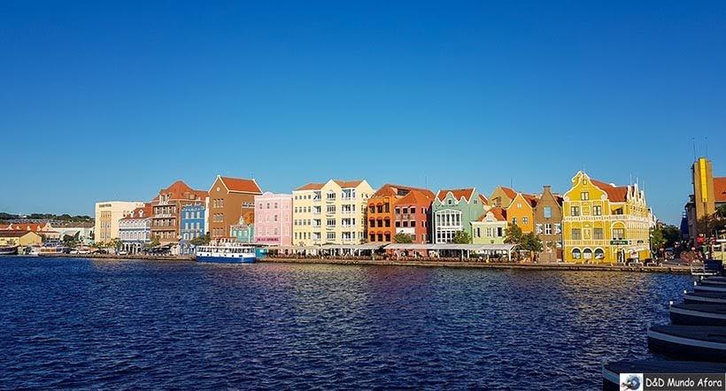 Casinhas coloridas de Curaçao - O que fazer em Curaçao