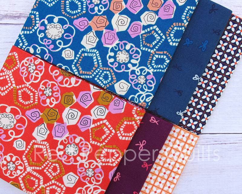 Yours Truly by Kim Kight for Cotton + Steel | © Red Pepper Quilts 2017