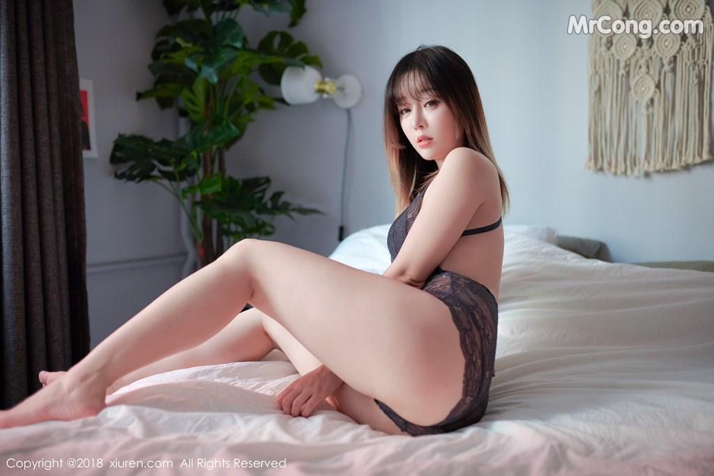 Image XIUREN-No.1252-Wang-Yu-Chun-MrCong.com-001 in post XIUREN No.1252: Người mẫu Wang Yu Chun (王雨纯) (49 ảnh)