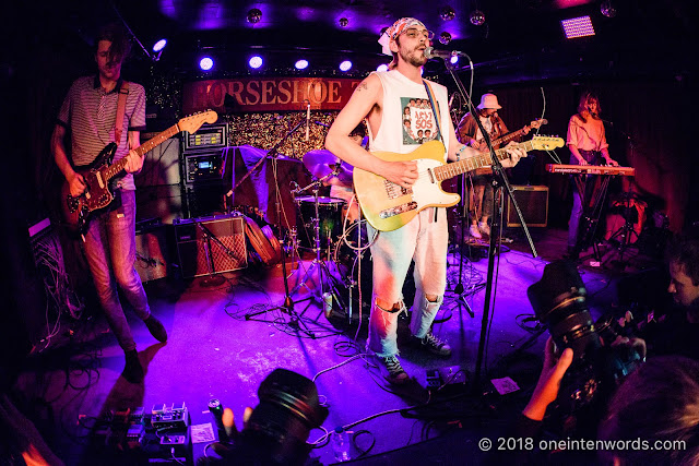 Sunshine and the Blue Moon at The Legendary Horseshoe Tavern on May 10, 2018 for CMW Canadian Music Week Photo by John Ordean at One In Ten Words oneintenwords.com toronto indie alternative live music blog concert photography pictures photos
