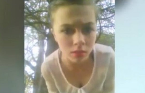 Garota filmou o suicídio (Foto: Reprodução)