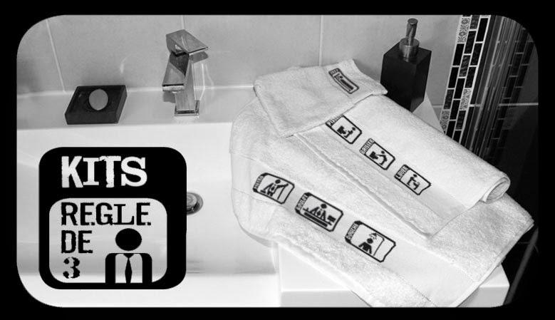 kit de point compt linge de maison collection r gle de 3. Black Bedroom Furniture Sets. Home Design Ideas