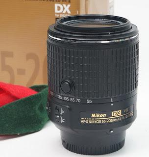 Jual lensa Nikon 55-200mm VR2 2nd