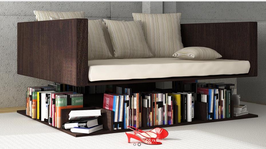Mystery Fanfare Sofa Bookshelf