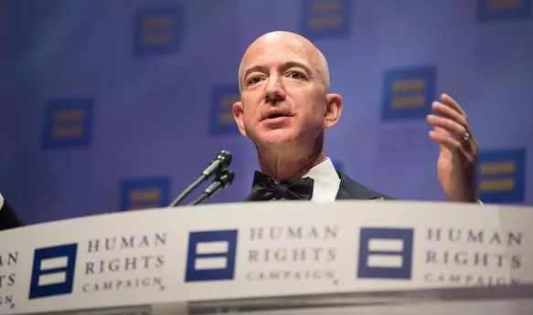 Bos Amazon Bangun Yayasan Sosial Senilai Rp 3 Triliun