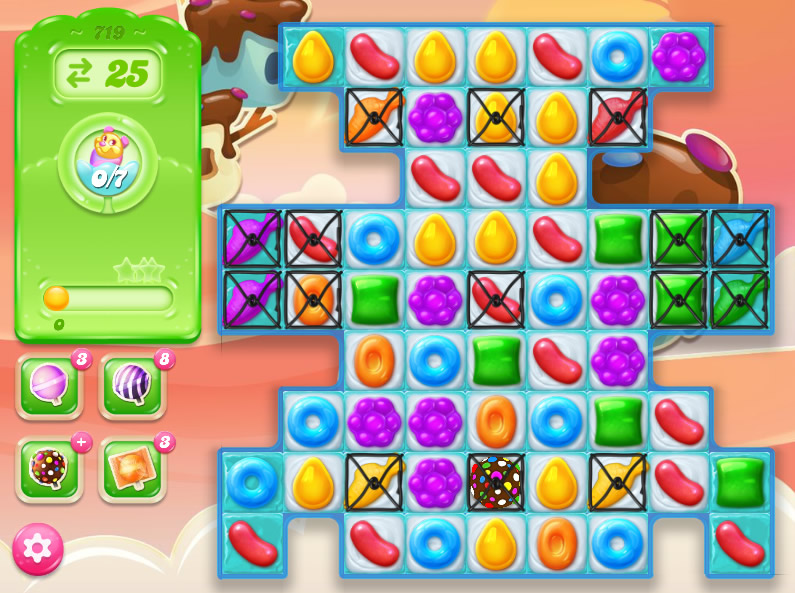 Candy Crush Jelly Saga level 719