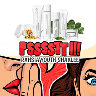Rahsia youth shaklee; skin care organik; youth malaysia; youth skin care; shaklee youth; skin care yang paling bagus di Malaysia
