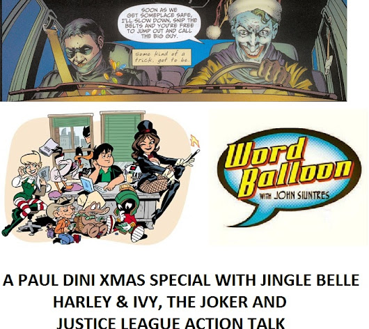 A Paul Dini Xmas With Jingle Belle Justice League Action DC Rebirth Holiday Special & More