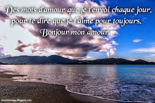 bonjour mon amour image