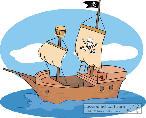clipart ships at sea - photo #11