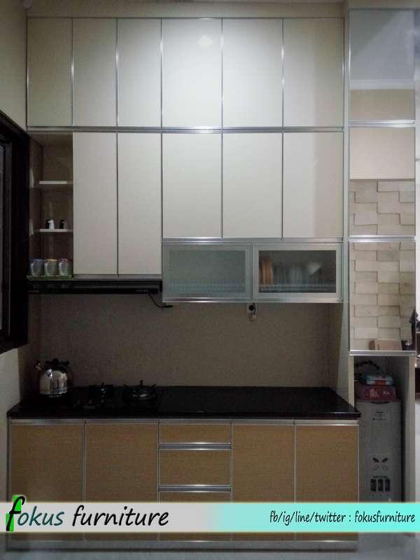 Kitchen Set Lis Alumunium Di Depok Furniture Kitchen Set