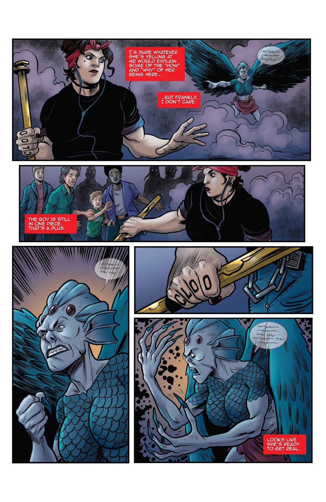 Read online Black Betty comic -  Issue #8 - 17