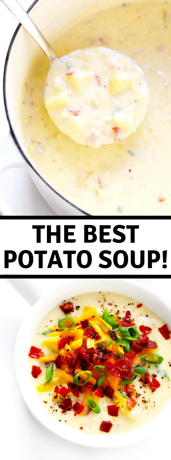 The BEST Potato Soup #deliciousfood #recipes