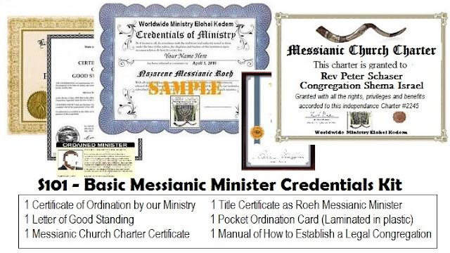 Messianic Ministry Ordination - WMEK