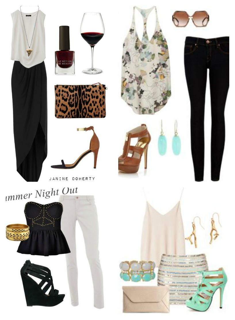 LookBook... Summer Night Outfit Ideas