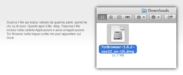 installare Tor su MacOS