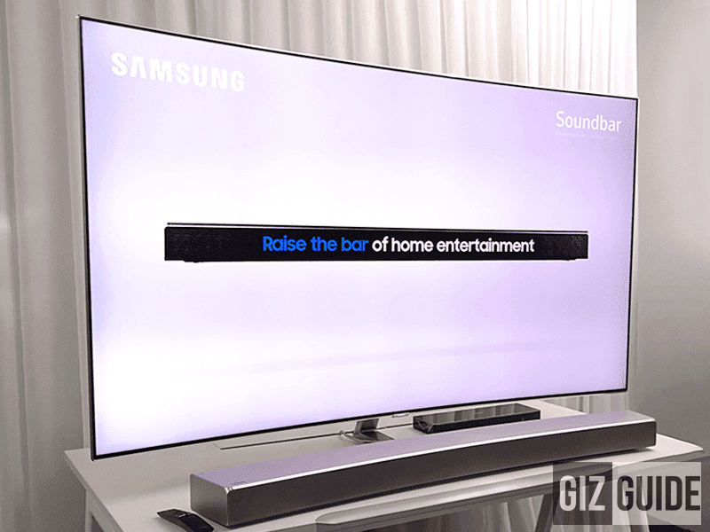 Take advantage of Samsung's TV and Soundbar promotions