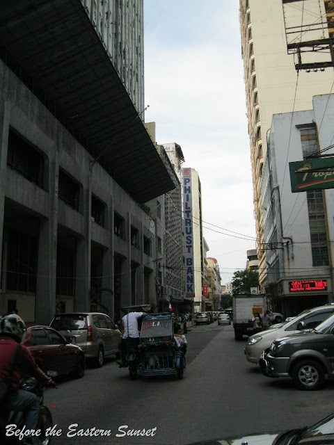 Universidad de Manila located along Kalye Escolta.