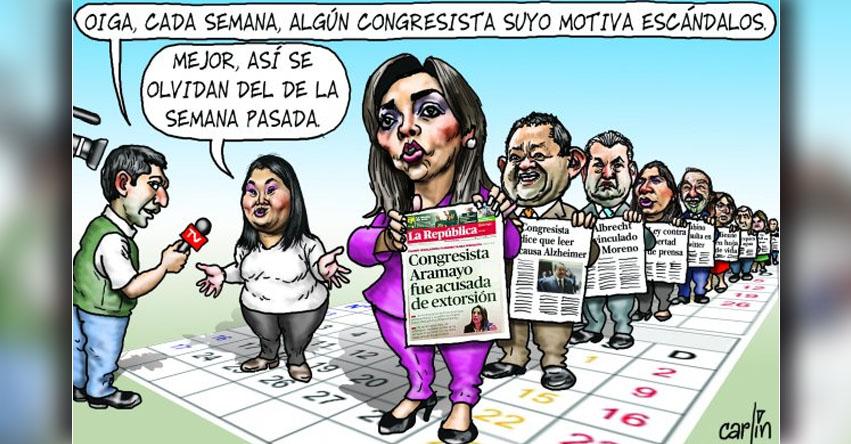 Carlincaturas Martes 11 Abril 2017 - La República