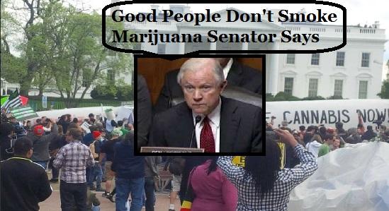Good People Don't Smoke Marijuana